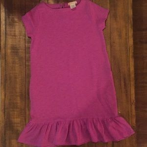 Crewcuts dress with ruffle hem size 7 EUC